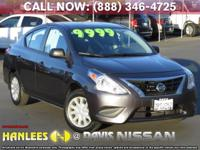 Options:  2015 Nissan Versa 1.6 S|Gray|Check Out This