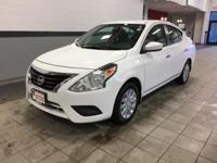 The Nissan Versa. Nissan's smallest and most economical