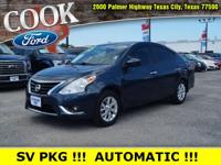 Metallic Blue 2015 Nissan Versa 1.6 SV FWD CVT with