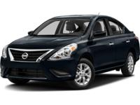 ~~ 2015 Nissan Versa SV ~~ CARFAX: 1-Owner, Buy Back