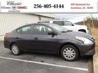 Options:  2015 Nissan Versa|Gray/|V4 1.6 L