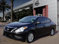 For a smoother ride, opt for this 2015 Nissan Versa 1.6