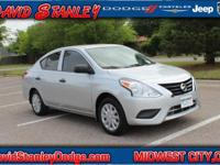 Versa 1.6 S, 1.6L I4 DOHC 16V, Automatic, FWD, and