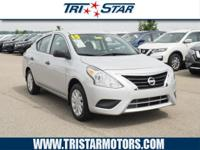 This 2015 Nissan Versa 1.6 S is a real winner with