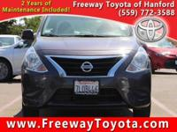 Silver 2015 Nissan Versa FWD CVT with Xtronic 1.6L I4