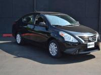 This 2015 Nissan Versa 4dr 1.6 SL Sedan features a 1.6L