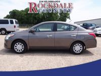 Don't miss out on this 2015 Nissan Versa 1.6 SV, which