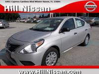 This Silver 2015 Nissan Versa S Plus might be just the