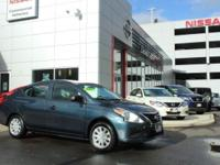 **DEALER MAINTAINED**, and **ONE OWNER VERSA**. Versa