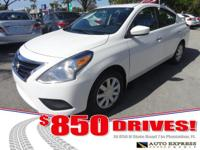 Options:  2015 Nissan Versa The Versa Is Nissan's