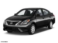 This 2015 Nissan Versa 1.6 S boasts features like