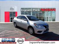*BLUETOOTH!* This gorgeous 2015 Nissan Versa has just