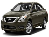 Options:  2015 Nissan Versa 1.6 Sv|New Tires! And New