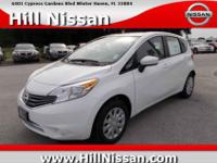 This white 2015 Nissan Versa Note S Plus might be just