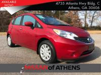 Look at this 2015 Nissan Versa Note S Plus. Its