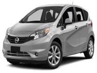 Options:  2015 Nissan Versa Note S Plus| Boasts 40