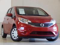 We are excited to offer this 2015 Nissan Versa Note.