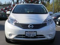 Options:  2015 Nissan Versa Note Note Sv