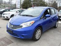 This 2015 Nissan Versa Note S has an exterior color of