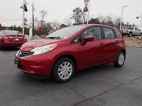 4 Cylinder  Options:  Cvt|This 2015 Nissan Versa Note S