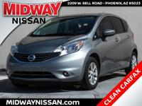 New Price!2015 Nissan Versa Note SV Magnetic Gray