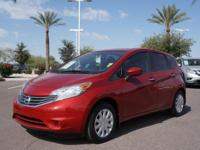This 2015 Nissan Versa Note SV features a braking