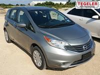 Silver 2015 Nissan Versa Note SV FWD CVT with Xtronic