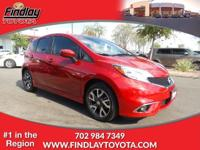 SR trim. FUEL EFFICIENT 40 MPG Hwy/31 MPG City! CARFAX