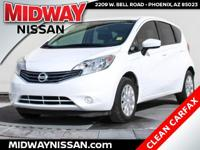 2015 Nissan Versa Note S Plus Fresh Powder 1.6L