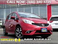 Options:  2015 Nissan Versa Note Sr|Red|Check Out This
