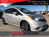 Look at this 2015 Nissan Versa Note SR. Its Variable
