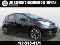 2015 Nissan Versa Note CARFAX One-Owner. Clean CARFAX.