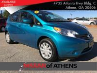 Come see this 2015 Nissan Versa Note . Its transmission
