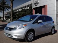 Treat yourself to this 2015 Nissan Versa Note SV, which