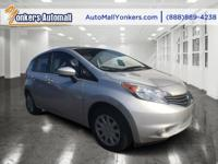 Come see this 2015 Nissan Versa Note SV. Its Variable