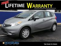 Options:  2015 Nissan Versa Note Sv|Gray|Just Reduced!