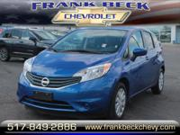 Options:  2015 Nissan Versa Note Sv|Sv 4Dr