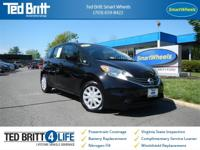 SMART WHEELS LOCATION    2015 Nissan Versa Note SV, 4D
