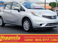 Clean CARFAX. CARFAX One-Owner. This 2015 Nissan Versa