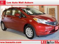 2015 Nissan Versa Note SV Red Brick CARFAX One-Owner.