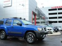 4WD, Metallic Blue, ABS brakes, Auto-dimming Rear-View