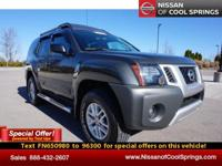 This is a Nissan Certified Preowned 4x4 with