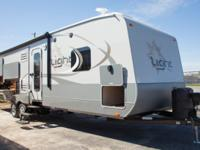 This Open Range Light travel trailer model 272RLS