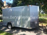 2015 Other New 6x12 VNose Enclosed Trailer New 6x12