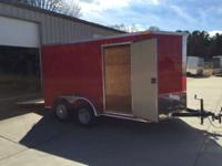 2015 Other New 7x12 VNose Enclosed Trailer New 7x12