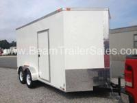 2015 Other NEW 7X14 VNose Enclosed Trailer New 7x14