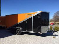 2015 Other New 7x16 VNose Enclosed Trailer 2014 Model