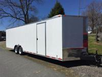 2015 Other NEW 8.5X28 VNOSE ENCLOSED TRAILER NEW 8.5X28