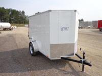 (989) 607-4841 ext.26 5' x 8' Enclosed Cargo Steel