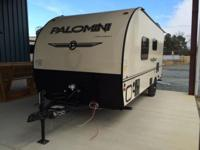 The 2015 Lite-Weight Travel Trailer Model 180FB is one